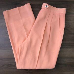 Vintage Salmon Trousers Pants